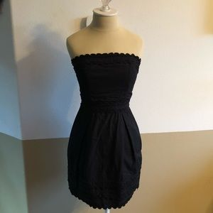 Size 4 French Connection Peplum Dress